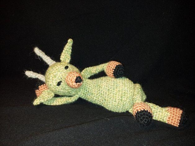 capriolo all'uncinetto - amigurumi roe deer crochet