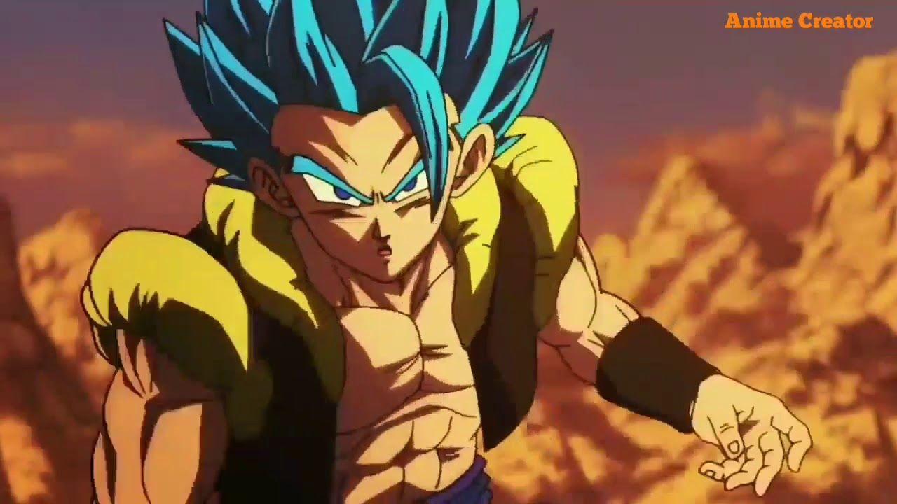 DragonBall Super Gogeta Vs Broly (full fight) | Anime ...