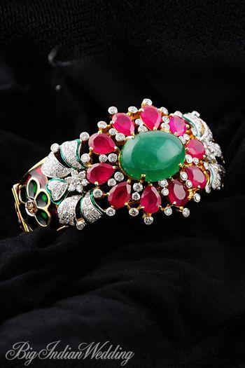 Bridal bracelet #indianwedding
