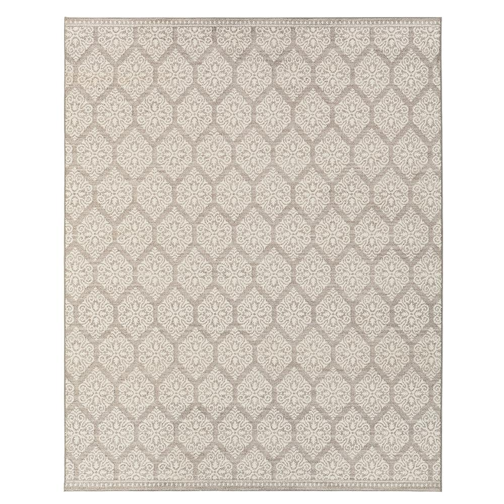 Home Decorators Collection Taurus Grey Cream 8 Ft X 10 Ft Indoor Area Rug 543143 The Home Depot Area Rugs Home Decorators Collection Grey And Cream Rug