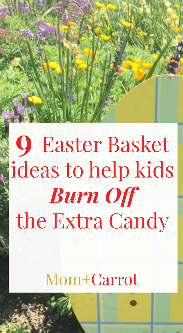 easter basket ideas to help kids burn off the extra candy basket