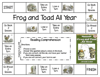 Pin On Frog And Toad Activities