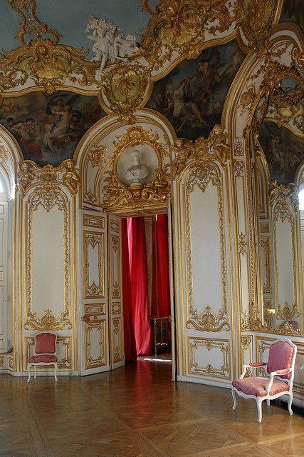 rococo interior | antike möbel, wohnkultur und rokoko, Innenarchitektur ideen