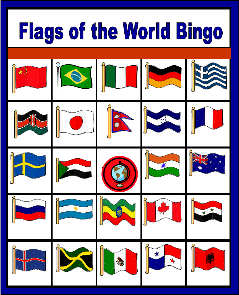 It's just a picture of Intrepid Flags of the World Printable