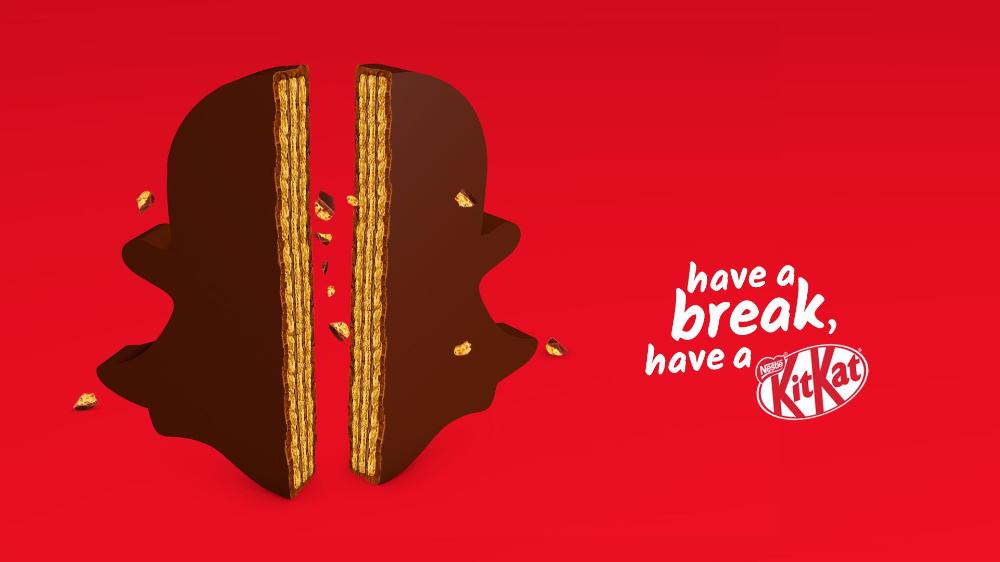 Kit Kat Print Advert By Miami Ad School Have A Break Have A Kitkat Ads Of The World In 2020 Kit Kat Creative Social Media Break