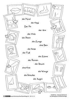 abc und 123 k rperteile r hmer englisch k rperteile deutschlehrer und k rper. Black Bedroom Furniture Sets. Home Design Ideas