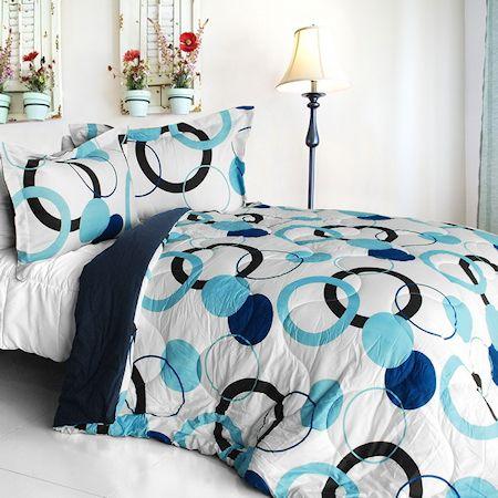 Girl Blue Bedding