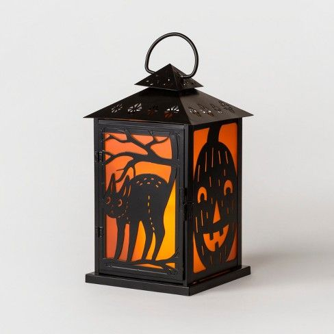 Halloween Small Metal Lantern - Hyde and Eek! Boutique™  Target