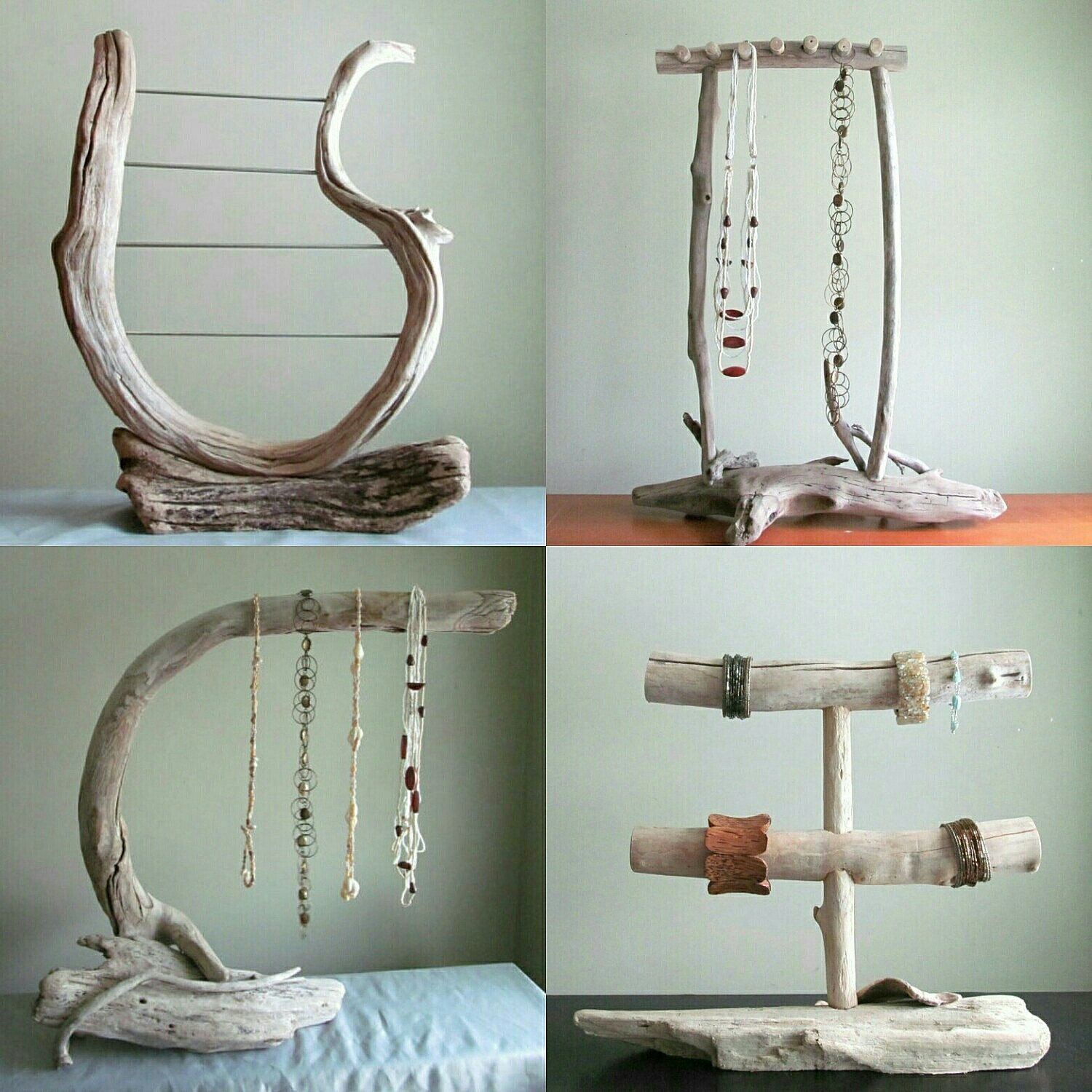 Photo of #DriftingConcepts #Etsy #Photo #shared Driftwood displays for all the jewelry de…