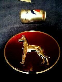 Great Dane Trailer Reflector Emblem Caveman Item Great Dane