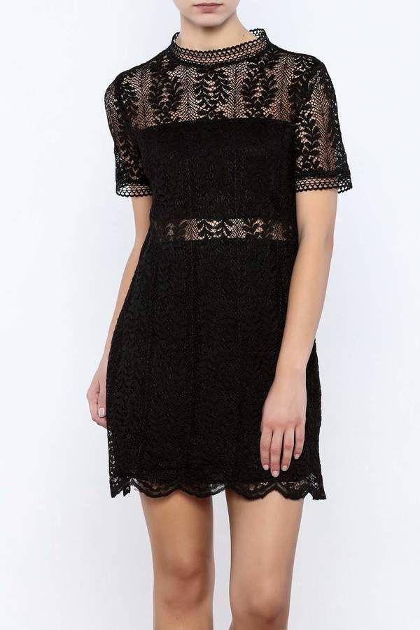 MinkPink Tell Tale Lace Dress  a43be4f53
