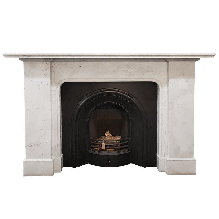 Carrara Marble Fireplace Mantel From A Unique Collection Of Antique And Modern Fireplaces And Man Marble Fireplace Mantel Marble Fireplaces Vintage Fireplace