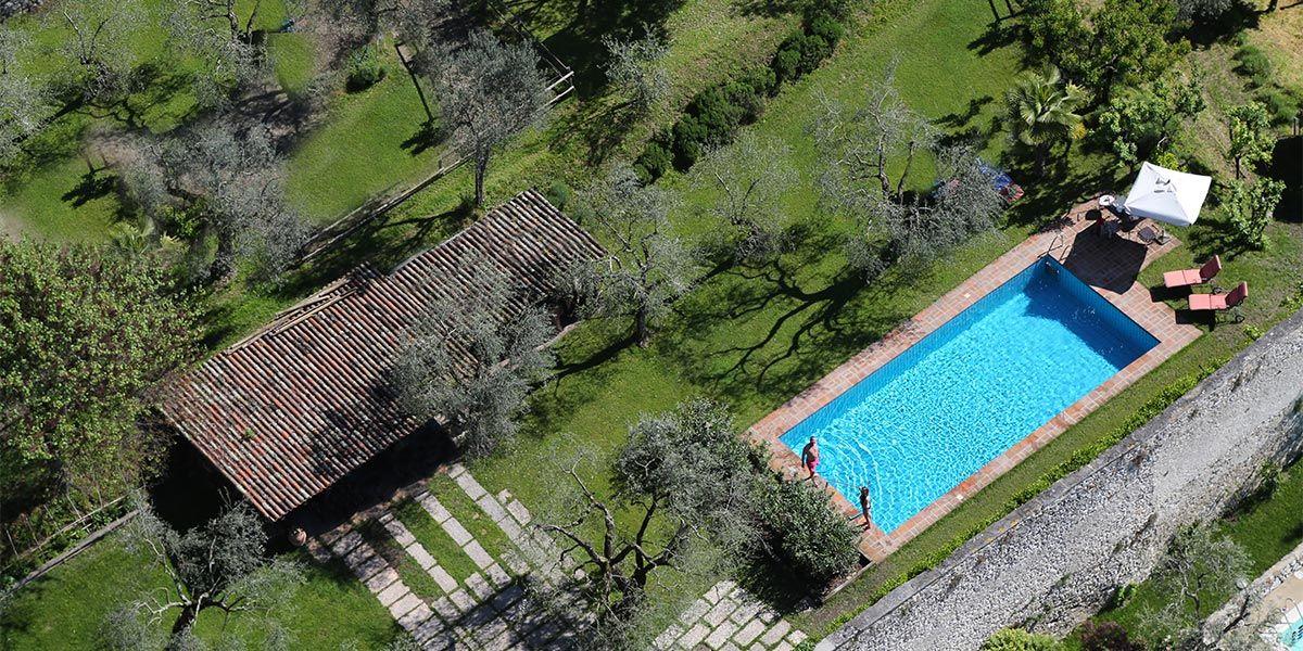 Agriturismo Gardasee Bauernhof Il Chiostrino Gardone Riviera Struttura