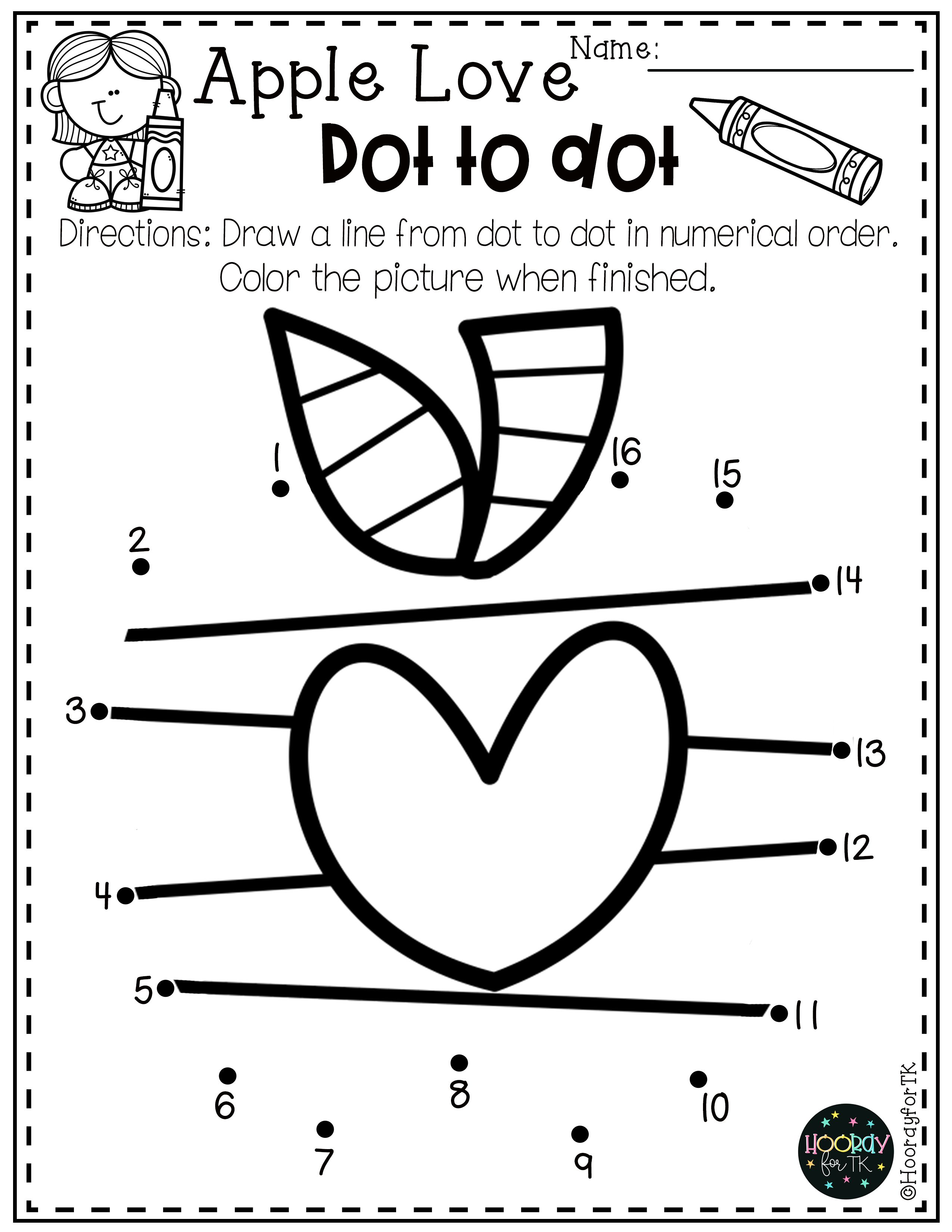 Pre K Back To School Worksheets In