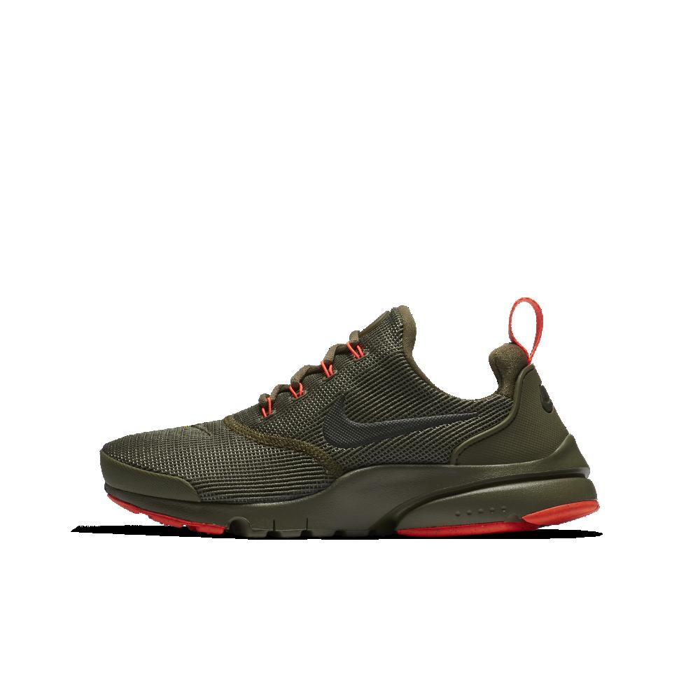 8a0d6f2c56b7 Nike Presto Fly Big Kids  Shoe Size 7Y (Olive)