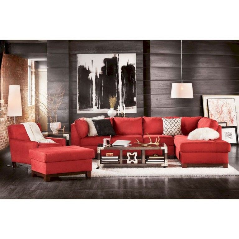 120 Brilliant Living Room Layouts Ideas With Sectional Livingroom Livingroomideas Living Red Couch Living Room Quality Living Room Furniture Living Room Red