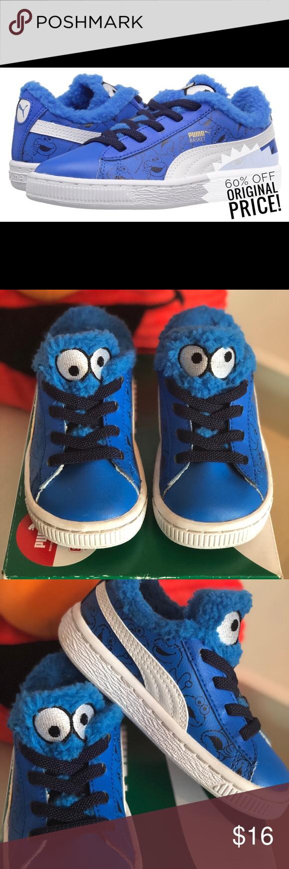 Puma Sesame Street Cookie Monster sneakers Monster
