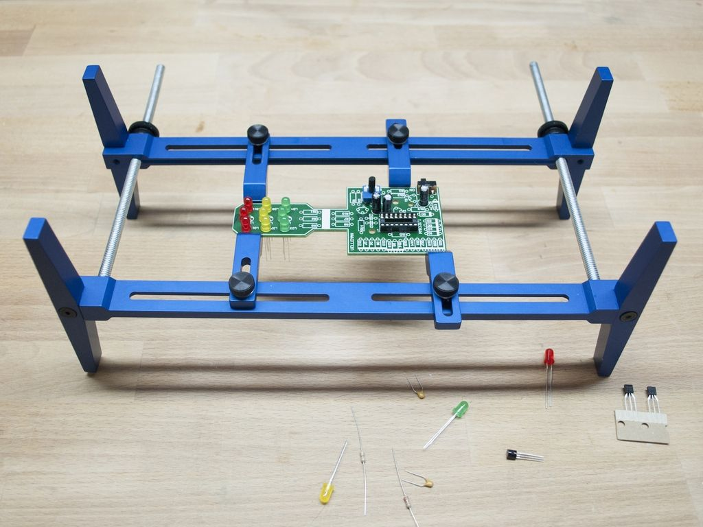 Pcb Rax An Easy To Use Circuit Board Holding System Circuit Board Diy Holder Circuit