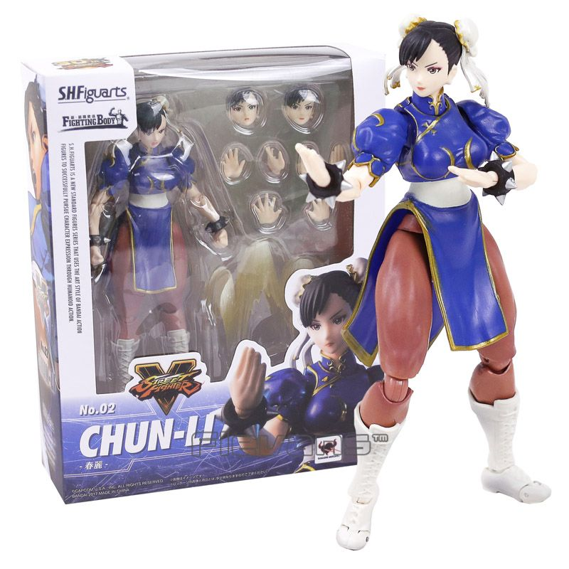 Shf S H Figuarts Street Fighter Iv 4 Chun Li Ryu Fighting Body