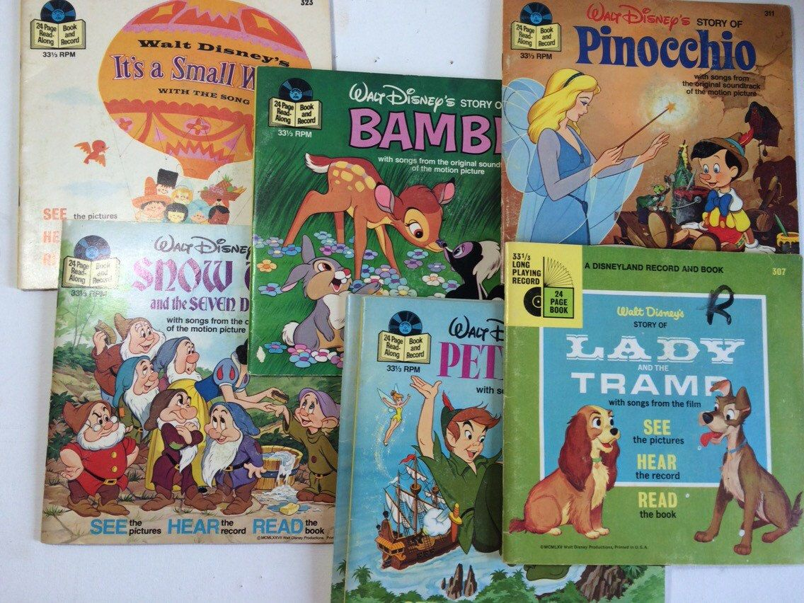 25+ Disney read along books and records value information