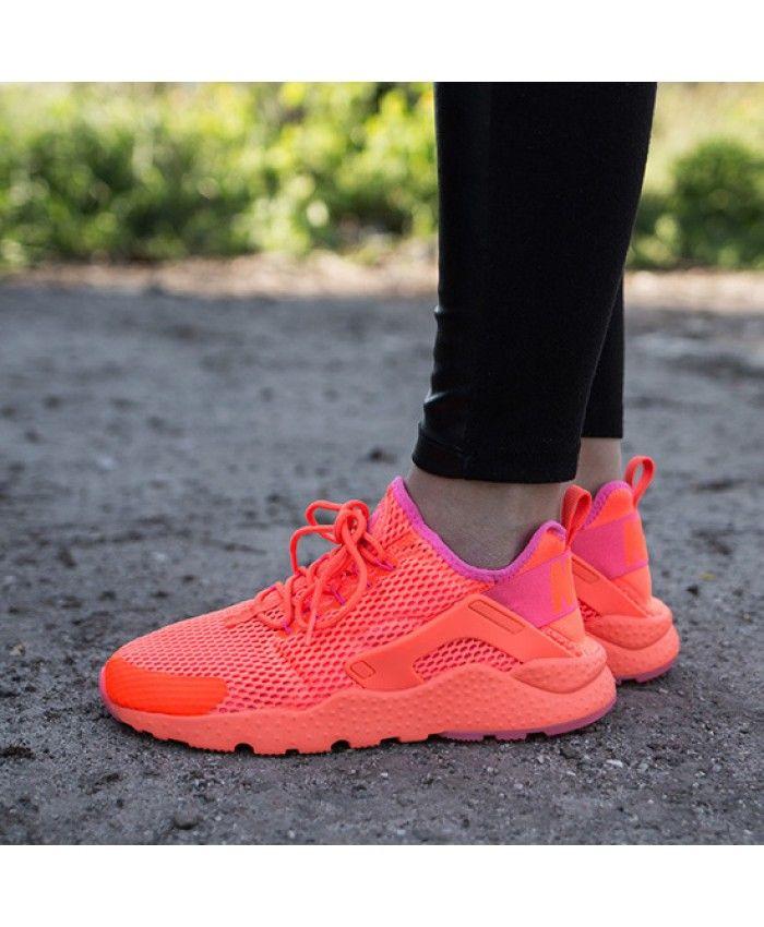 a1d154328f58 Nike Air Huarache Ultra Breathe Hyper Pink Peach Trainer Giving a fresh  feeling