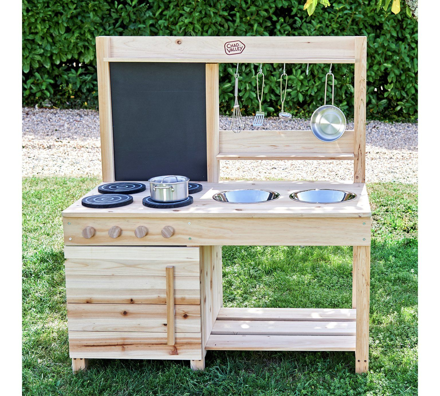 Buy Chad Valley Wooden Mud Kitchen Role play toys in