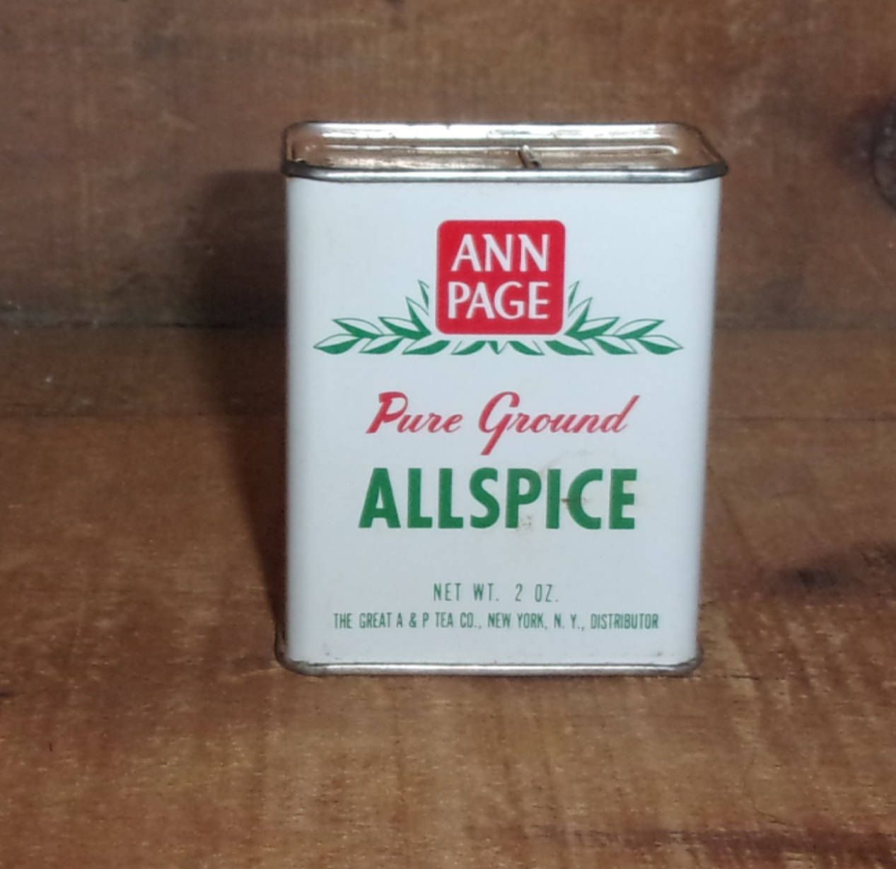 Ann Page Allspice Spice Tin - Kitchen & Dining - Advertising ...