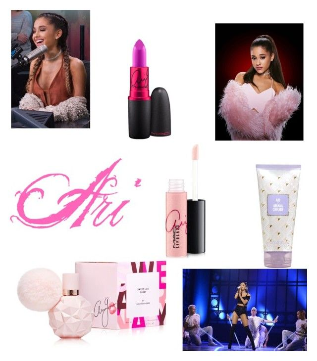 """""""Ariana G"""" by love-little-mix ❤ liked on Polyvore featuring beauty, Novo and MAC Cosmetics"""