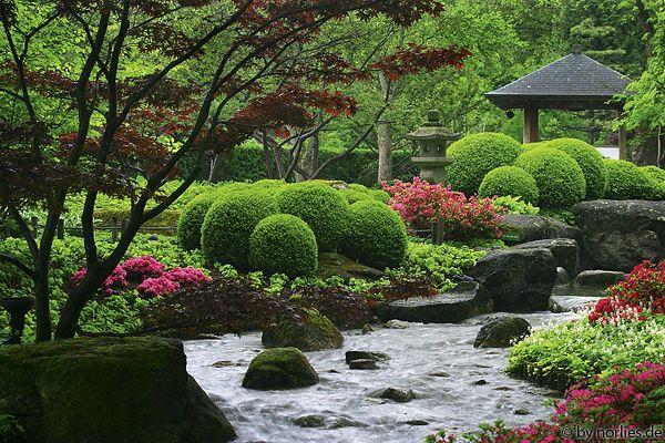 Beautiful Japanischer Garten im Botanischen Garten Augsburg Germany