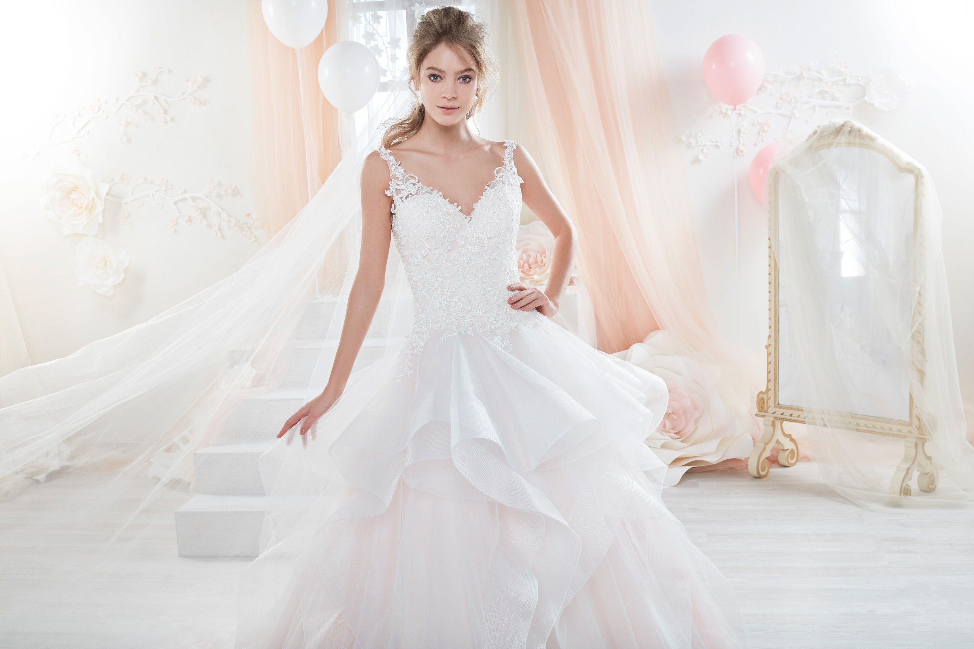 Wedding Dress Nicole - Collection COLET COAB18319 2018 | Bridal ...