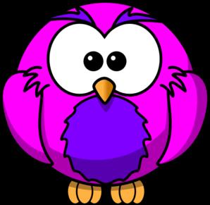 Pink And Purple Hoot   Раскраски с животными, Рисунки для ...