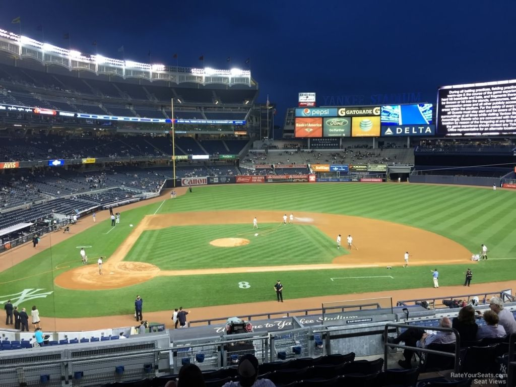 Yankee Stadium Seating Chart Rows Di 2020