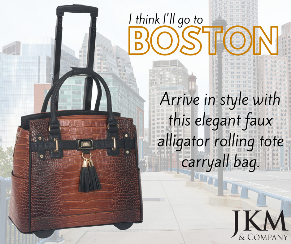 Arrive In Style Everywhere You Go With The Boston Bag From Jkm And Company Listed