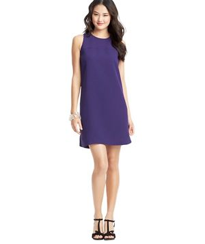 33402af3ff Party-Ready Summer Dress: Loft Crepe Shift Dress Cute Dresses For Party,  Party