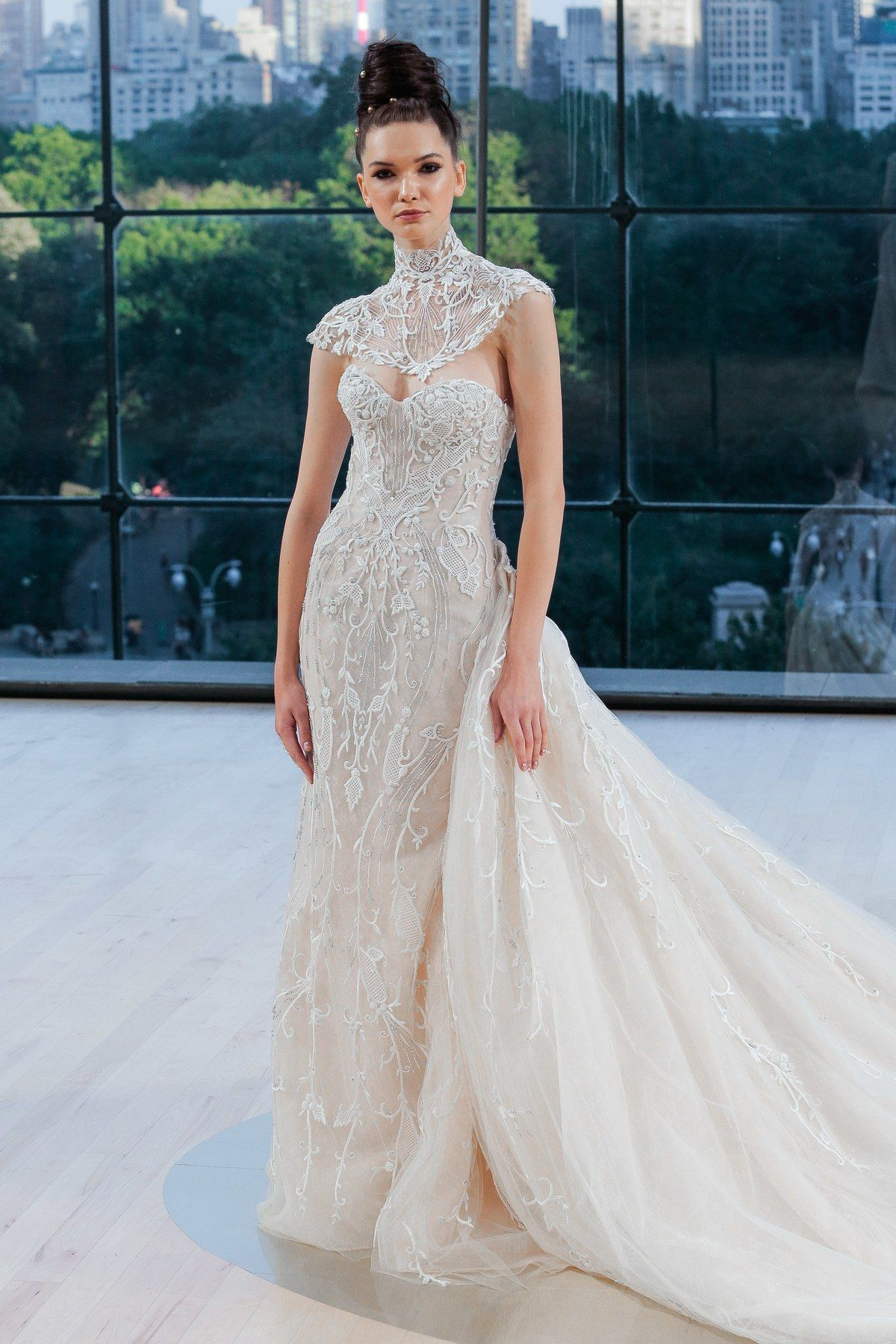 Hot off the fall bridal fashion week runways here are brand