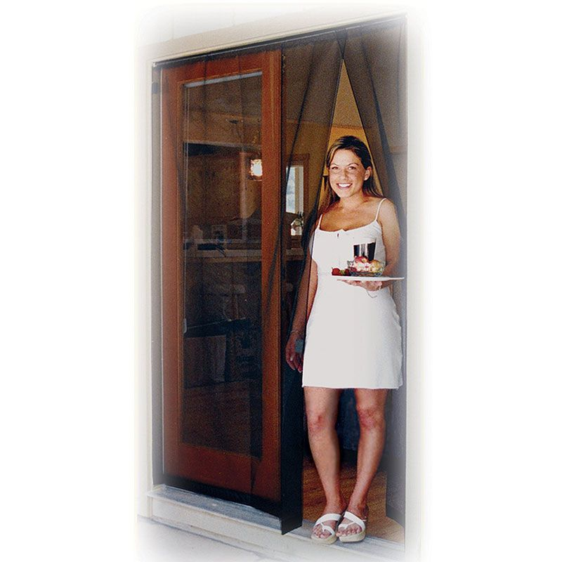 Smarthome Com Bug Off Instant Screen Door With Magnetic Closure