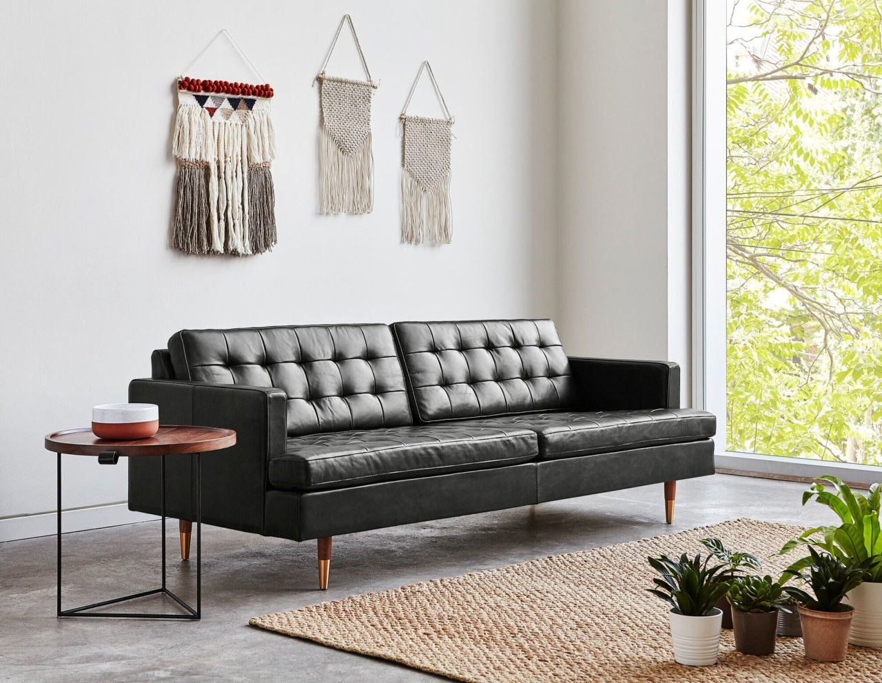 Gus Modern Launches New Lines For Its Fall 2018 Furniture Collection Best Leather Sofa Leather Sofa Furniture