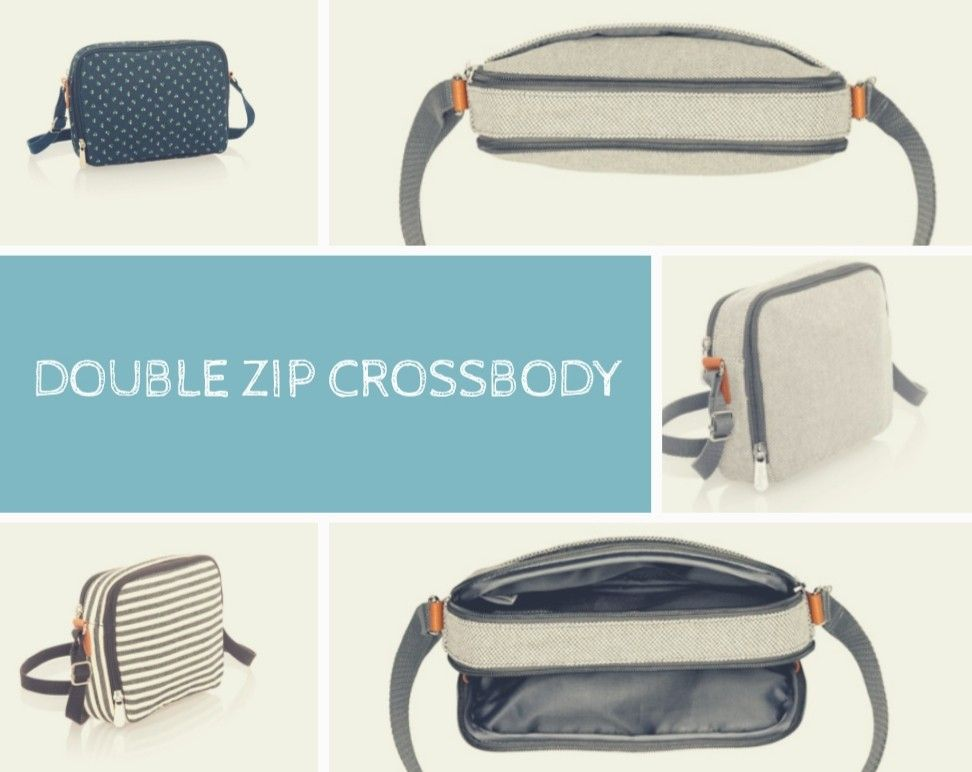 The Double Zip Crossbody My New Obsession Can A Girl Ever