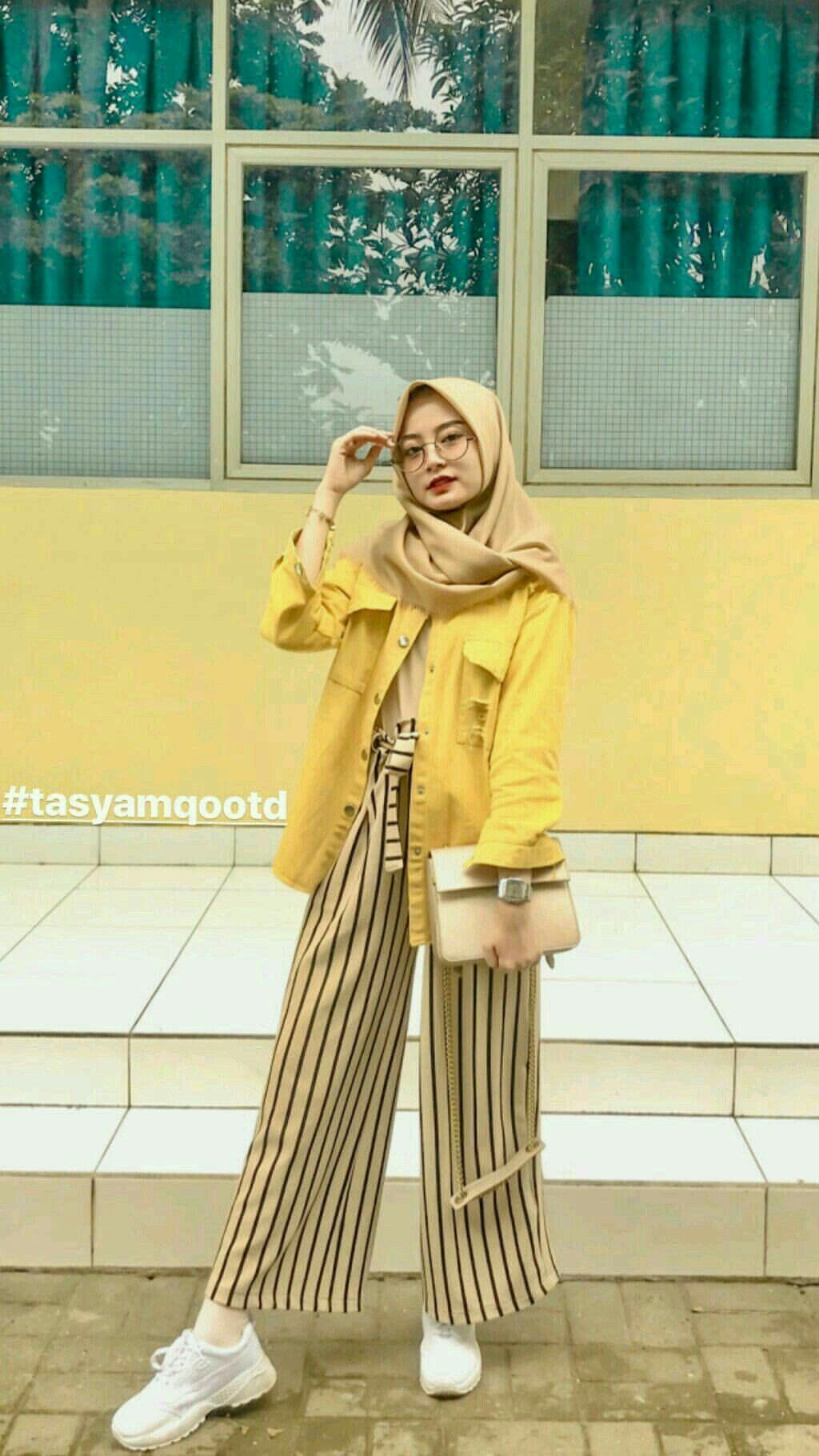 Hijab fashion Hijab fashion #Fashion #Hijab di 12  Gaya model