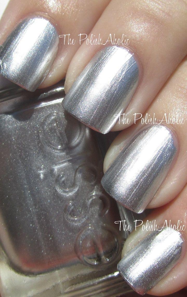 No place like Chrome silver nail polish | Nail Art & Manicure ...