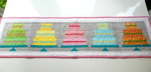 cake pp long - Table runner!!!!  :)  To go with my birthday quilt idea! :)