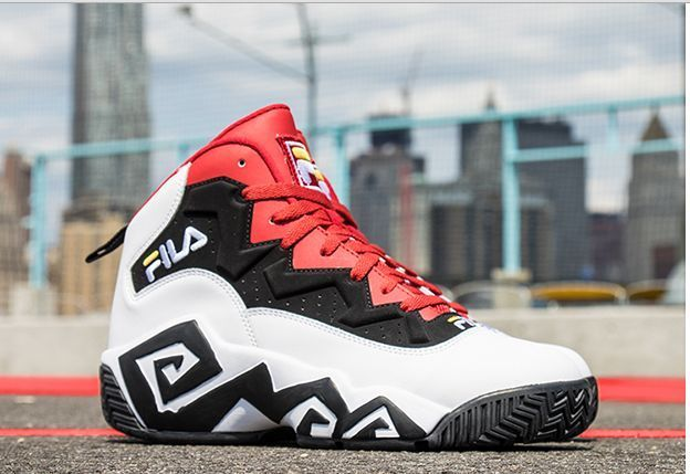 Details about Fila Men's MB Leather Retro High-Top Basketball ...