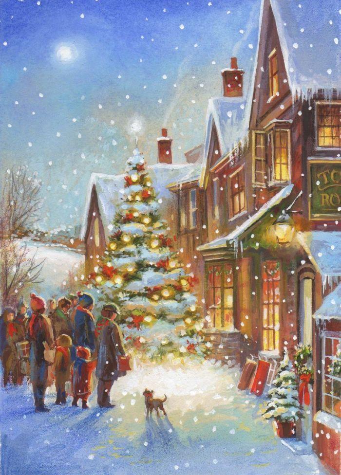 Vk weihnachten christmas - Amerikanische weihnachtskarten ...