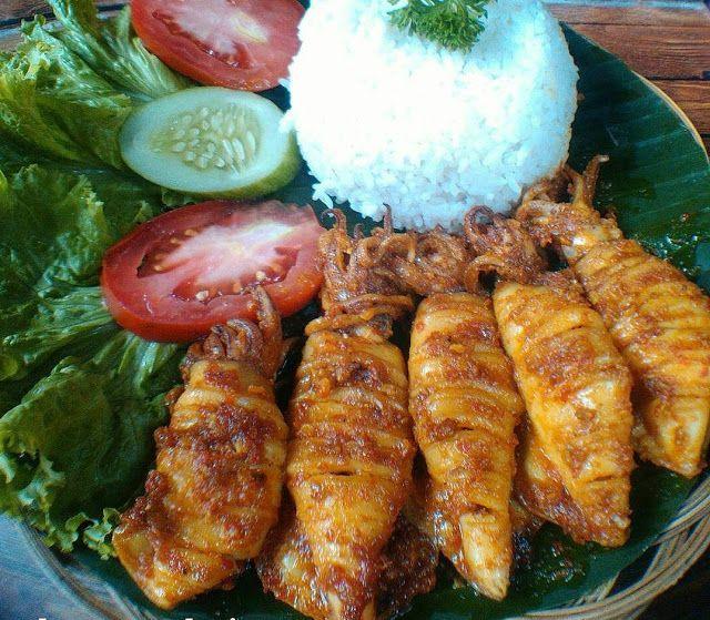 Resep Cumi Bakar Teflon Resep Masakan Resep Masakan Indonesia Resep