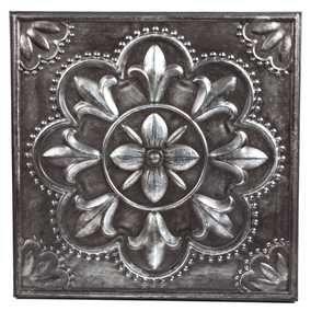 Pewter Flower Metal Wall Decor | LoVe tHiS sTuFf | Pinterest ...