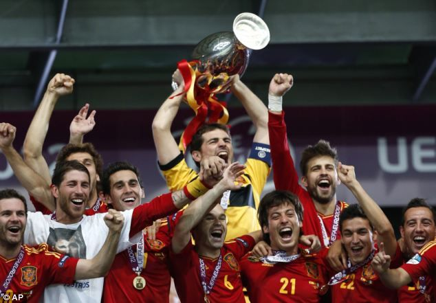 European Champions World Cup Winners Spain Complete Full Year As The Top Team In Fifa S World Rankings Spain Football Soccer World Spain Soccer