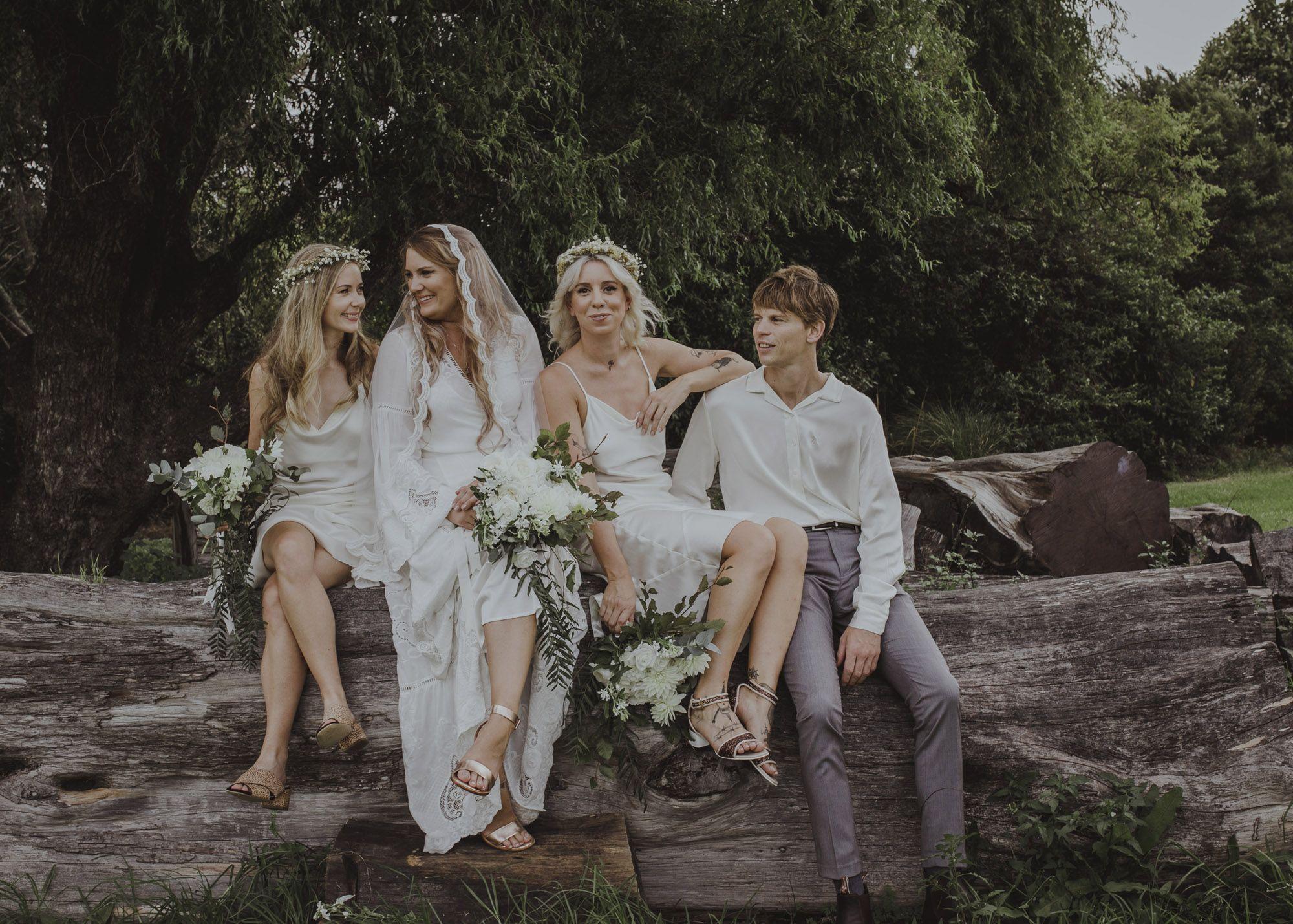 Butler barn wedding oregon  A Low Key New Zealand Estate Wedding With A Bohemian Vintage Vibe