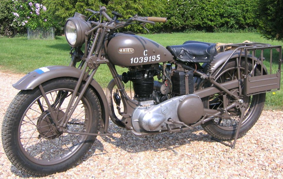 1942 Ariel Military Bike Military Motorcycle Army Motorcycle Classic Motorcycles
