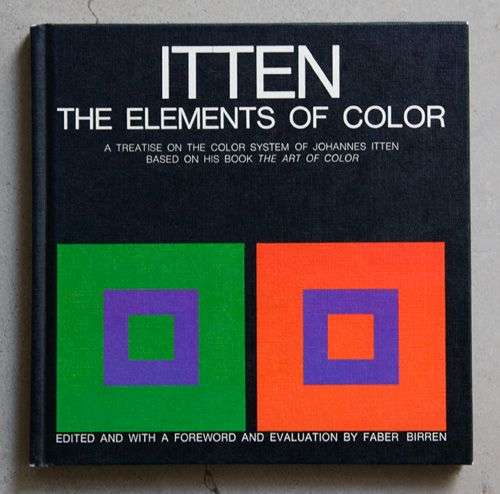 Book & Periodical Covers Color theory books, Elements of