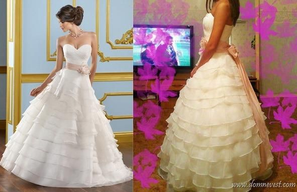 Свадебные платье в маньчжурии